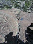 Rock Climbing Photo: to the belay