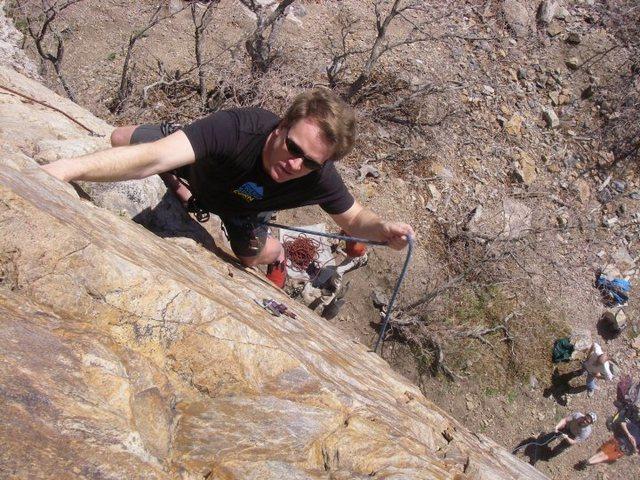 Rock Climbing Photo: Enjoying the day