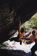 Rock Climbing Photo: Sticking rhe inset