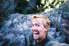 Rock Climbing Photo: Loving Life