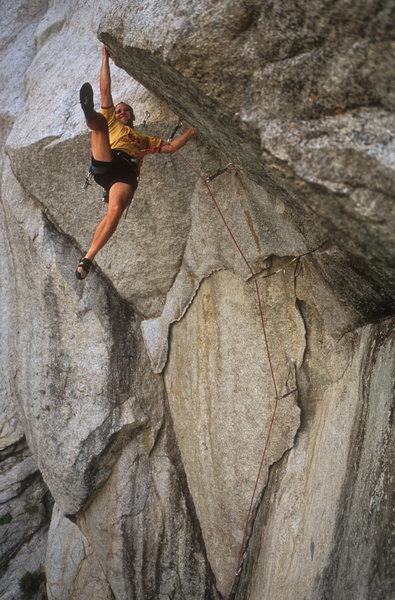 Rock Climbing Photo: Retrobolted and not choss.