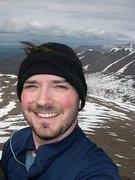 Rock Climbing Photo: Me on McHugh Peak, Chugach Front Range . . .