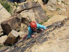 Rock Climbing Photo: Intense! Well, not so intense - but fun!