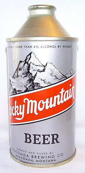 Rocky Mountain Beer. A relic from the 1940s.