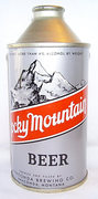 Rock Climbing Photo: Rocky Mountain Beer. A relic from the 1940s.