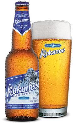 Kokanee Beer.