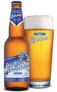 Rock Climbing Photo: Kokanee Beer.