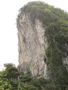 Rock Climbing Photo: Le Pi Shan crag