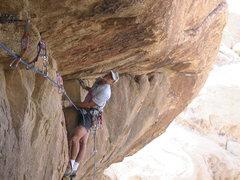 Rock Climbing Photo: Todd Gordon on the FA of Jesus Saw You Take It.