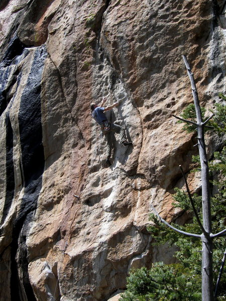 """Ahh, one more.  Keith with """"the"""" undercling pocket that makes it all go!"""