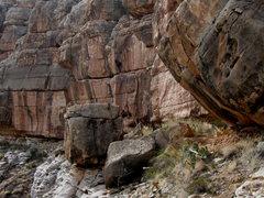 Rock Climbing Photo: Chevelon Canyon, AZ
