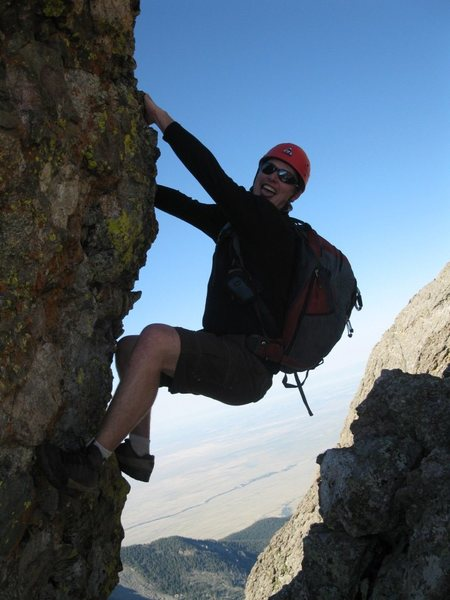 Rock Climbing Photo: Kit Carson