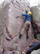 "Rock Climbing Photo: Not sure if this is the ""right"" problem,..."