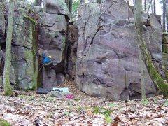 Rock Climbing Photo: On Pillar of Contemporary Movement, super fun prob...