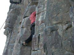 Rock Climbing Photo: Ryan Flynn first time climbing in the Black Cliffs