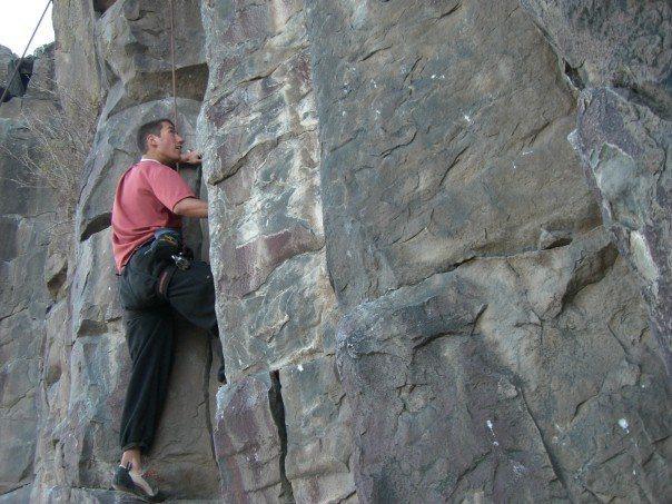 Rock Climbing Photo: More climbing in the Black Cliffs
