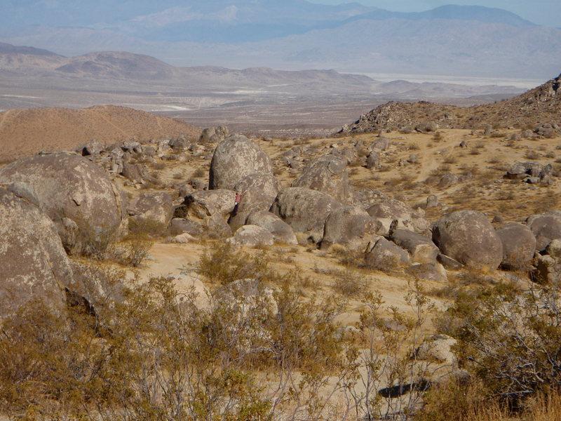 Rock Climbing Photo: Bouldering at Wagonwheel.