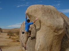 Rock Climbing Photo: Off. Wagonwheel.