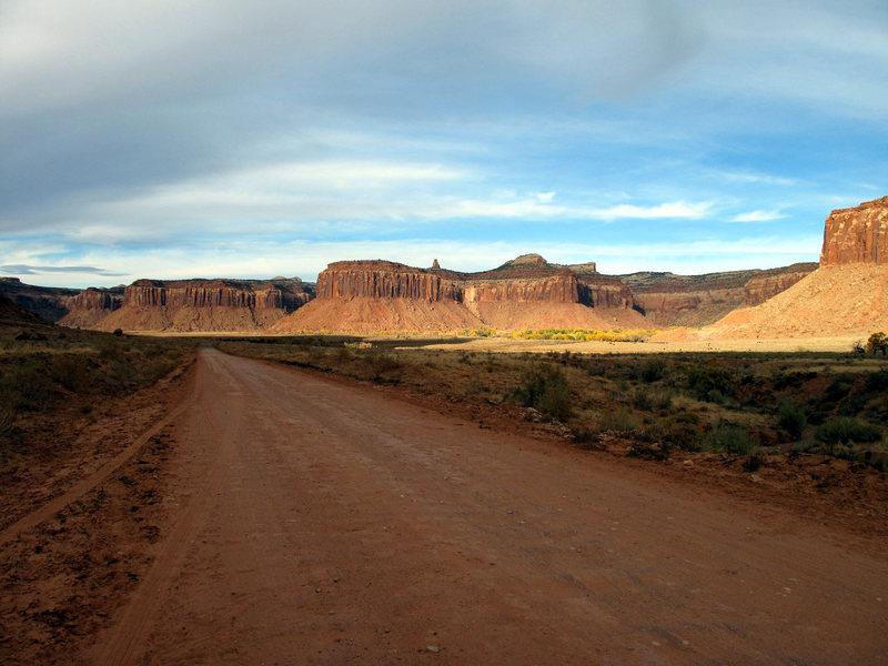 the desert<br>