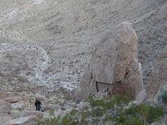 Rock Climbing Photo: Golden Eye Spire