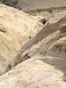 Rock Climbing Photo: Pat following P5.