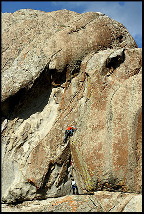 Rock Climbing Photo: lee smith would probably be all over this