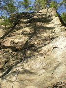 Rock Climbing Photo: end of innocence, curse of the drill, and all in b...