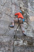 Rock Climbing Photo: Getting started on Lizards Tail.