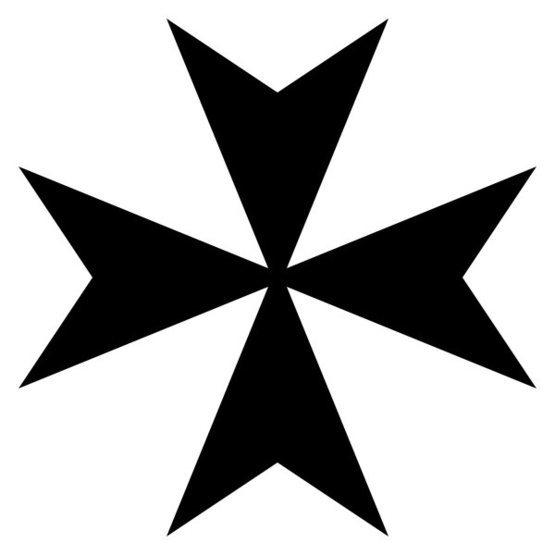 Rock Climbing Photo: Maltese cross.