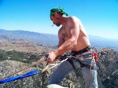 Rock Climbing Photo: John Henry working steel....