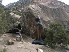 Rock Climbing Photo: Better Than Coffee.  - Photo by JA.