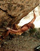 Chris Linder on boulder 010101