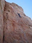 Rock Climbing Photo: menstrating?