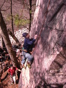Rock Climbing Photo: Another shot on Blackboard. Photo: Rhoads