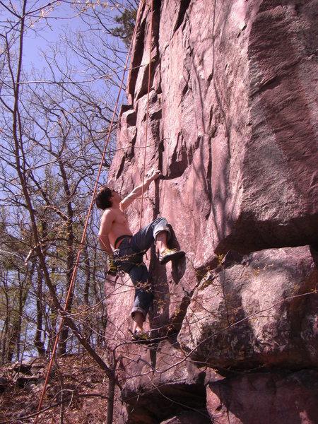 Great climb.<br> Photo: Rhoads