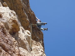Rock Climbing Photo: Hanging out on Richter Scale.