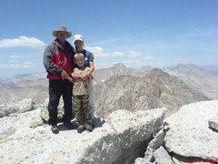Rock Climbing Photo: On Mt. Langley