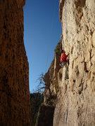 Rock Climbing Photo: Taking a lap.
