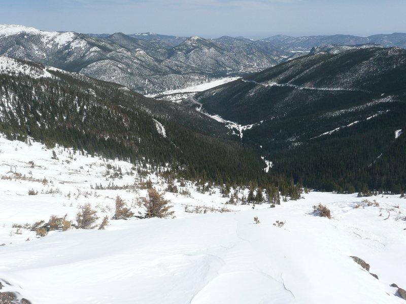 Rock Climbing Photo: Spring ski.
