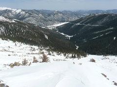 Spring ski.