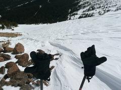 Rock Climbing Photo: Descent.
