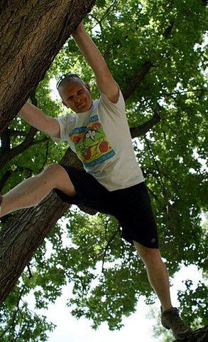 Rock Climbing Photo: Climbing a tree