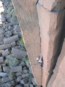 Rock Climbing Photo: Lenka Stafl on JR Token. Photo by Max Tepfer.