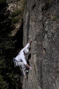Rock Climbing Photo: Sergei is ready.