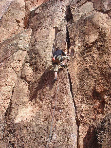 Spence leading Kalahari Sidewinder.