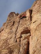 Rock Climbing Photo: Finishing up The Raven.