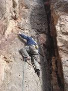 Rock Climbing Photo: Ah yeah, this is fun!