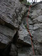 Rock Climbing Photo: cascadia, Manic Depression bolts on the right. Swi...