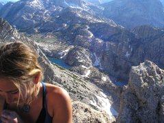 Rock Climbing Photo: Summit of Pos Vibes