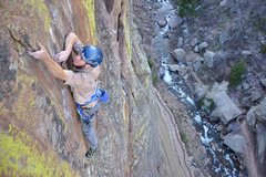 Rock Climbing Photo: Hairstyles and Attitudes. Trad Style. Photo: Rob K...